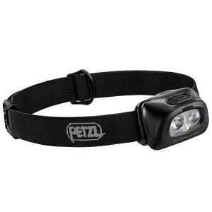 PETZL(ペツル) タクティカ+RGB/ ブラック E089FA00アウトドアギア LEDタイプ ランタン ヘッドライト ブラック おうちキャンプ ベランピング
