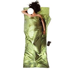 COCOON(コクーン) コクーンIST91サファリTシーツシルク サファイアグリーン 12550025アウトドアギア スリーピングバッグインナー アウトドア用寝具 インナーシーツ グリーン おうちキャンプ ベランピング