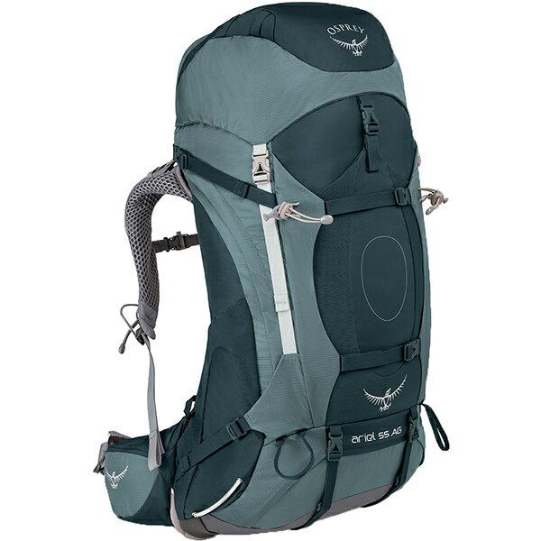 OSPREY(オスプレー) エーリエルAG 55/ブースベイグレー/S OS50067女性用 グレー リュック バックパック バッグ トレッキングパック トレッキング60 アウトドアギア