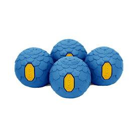 Helinox Home(ヘリノックス ホーム) Vibramボールフィート/ O.ブルー 19759022アウトドアギア ファニチャー用アクセサリー テーブル レジャーシート イス ブルー おうちキャンプ ベランピング