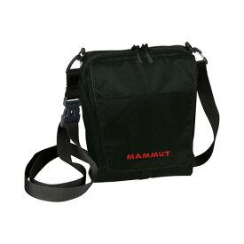 Mammut(マムート) タッシュ ポーチ 1/ブラック(0001) 2520-00131アウトドアギア アウトドア ショルダーバッグ ブラック おうちキャンプ ベランピング