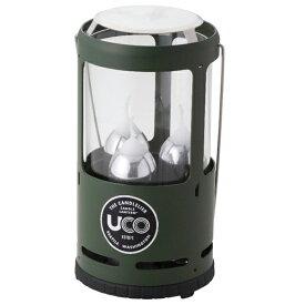 UCO(ユーコ) キャンドリア/グリーン 24392アウトドアギア ランタンキャンドル ライト ランタン グリーン おうちキャンプ ベランピング