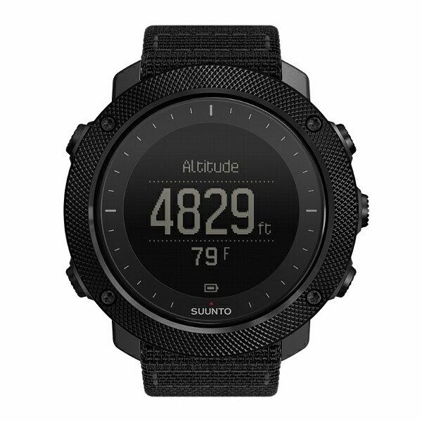 SUUNTO(スント) TRAVERSE ALPHA STEALTH(トラバース アルファ ステルス) SS022469000男女兼用腕時計 腕時計 時計 高機能ウォッチ アウトドアギア