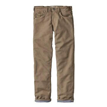 patagonia(パタゴニア) Ms Flannel Lined Straight Fit Jeans Reg/ASHT/30 56170男性用 ベージュ ロングパンツ メンズウェア ウェア ロングパンツ男性用 アウトドアウェア