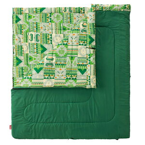 Coleman(コールマン) ファミリー2IN1/C10 2000027256アウトドアギア 封筒スリーシーズン 封筒型 アウトドア用寝具 寝袋 シュラフ スリーシーズンタイプ(三期用) おうちキャンプ ベランピング