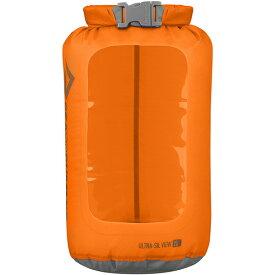 SEA TO SUMMIT(シートゥーサミット) ウルトラシル ビュー ドライサック/オレンジ/2L ST83022オレンジ ダイビングバッグ シュノーケリング ダイビング 防水バッグ・マップケース ドライバッグ アウトドアギア