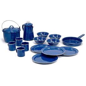 GSI(ジーエスアイ) GSI パイオニア 16P キャンプセット BL 11870005アウトドアギア テーブルウェアセット テーブルウェア アウトドア キャンプ用食器 ブルー おうちキャンプ ベランピング
