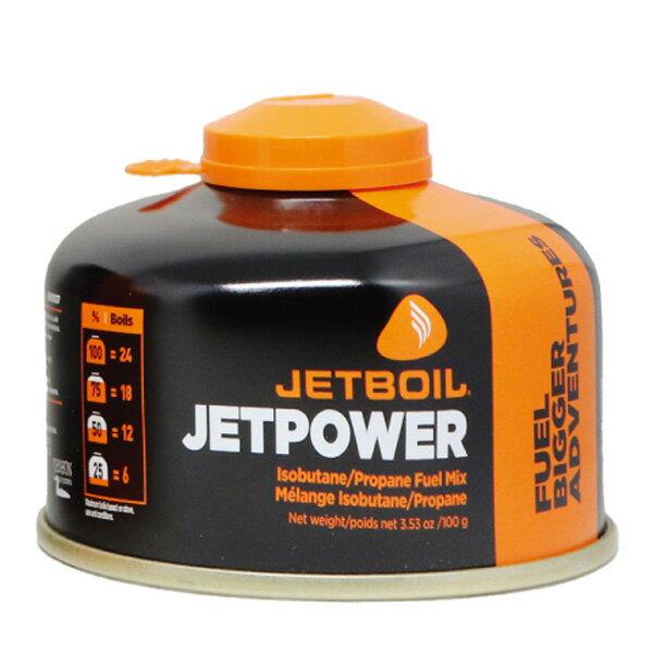 ★Wエントリーでポイント9倍!JETBOIL(ジェットボイル) JB.ジェットパワー100G 1824332燃料 アウトドア アウトドア ガス レギュラー アウトドアギア