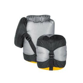 SEA TO SUMMIT(シートゥーサミット) ウルトラシル コンプレッション ドライサック/グレー/2XS ST83361001アウトドアギア ドライバッグ 防水バッグ・マップケース アウトドア トートバッグ グレー おうちキャンプ ベランピング