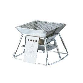 OUTDOOR LOGOS(ロゴス) ピラミッドグリル・コンパクト 81063112ウォーマー ヒーター ストーブ 焚火ストーブ 焚火ストーブ アウトドアギア