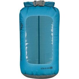 SEA TO SUMMIT(シートゥーサミット) ウルトラシル ビュー ドライサック/ブルー/4L ST83023ブルー ダイビングバッグ シュノーケリング ダイビング 防水バッグ・マップケース ドライバッグ アウトドアギア