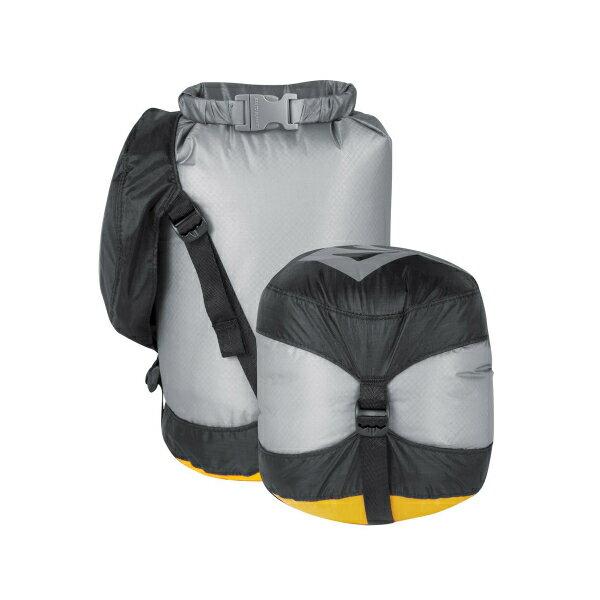 SEA TO SUMMIT(シートゥーサミット) ウルトラシル コンプレッション ドライサック/グレー/XS ST83362グレー ダイビングバッグ シュノーケリング ダイビング 防水バッグ・マップケース ドライバッグ アウトドアギア