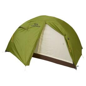 DUNLOP(ダンロップ) コンパクトアルパインテント/VS-21A VS-21Aアウトドアギア 登山2 登山用テント タープ 二人用(2人用) グリーン おうちキャンプ ベランピング
