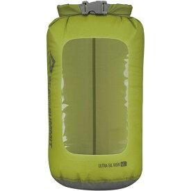 SEA TO SUMMIT(シートゥーサミット) ウルトラシル ビュー ドライサック/グリーン/4L ST83023グリーン ダイビングバッグ シュノーケリング ダイビング 防水バッグ・マップケース ドライバッグ アウトドアギア