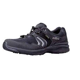 SIRIO(シリオ) P.F.112/BLK/25.0cm PF112アウトドアギア アウトドアスポーツシューズ メンズ靴 ウォーキングシューズ ブラック 男性用