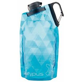 platypus(プラティパス) デュオロックソフトボトル/ブループリズム/0.75L 25897アウトドアギア ソフトパック 水筒 マグボトル ブルー おうちキャンプ ベランピング