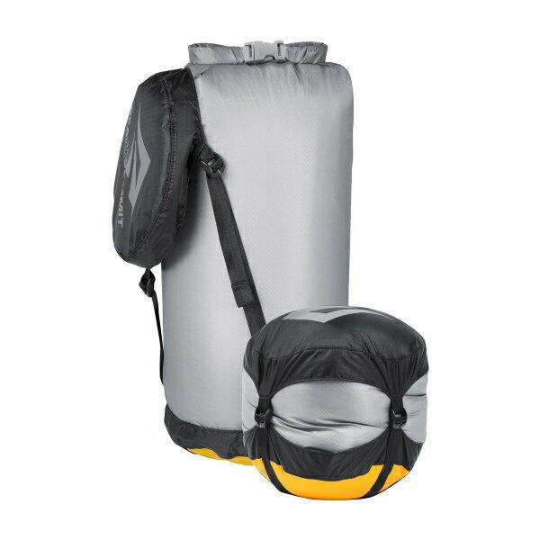 SEA TO SUMMIT(シートゥーサミット) ウルトラシル コンプレッション ドライサック/グレー/S ST83363グレー ダイビングバッグ シュノーケリング ダイビング 防水バッグ・マップケース ドライバッグ アウトドアギア