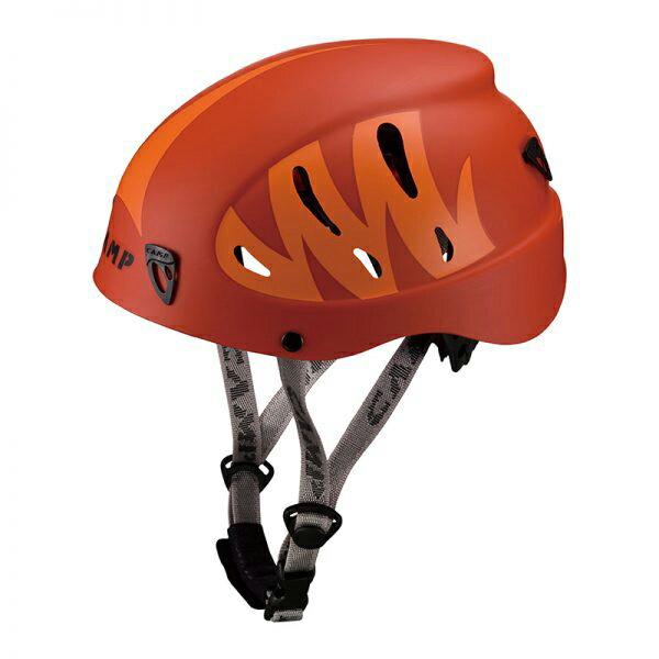 CAMP(カンプ) アーマー(レッドxオレンジ) 5019011ヘルメット トレッキング 登山 アウトドアギア