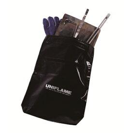 UNIFLAME(ユニフレーム) インスタントスモーカー収納ケース 665992アウトドアギア クッキング収納バッグ クッキング用品収納バッグ アウトドア 燃料 ブラック おうちキャンプ ベランピング