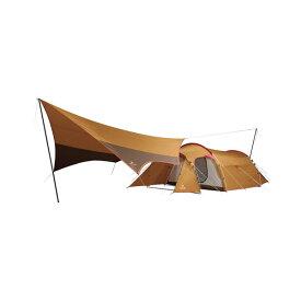 snow peak(スノーピーク) エントリーパック TT SET-250H四人用(4人用) テント タープ キャンプ用テント キャンプ4 アウトドアギア