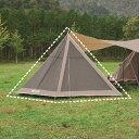 ★エントリーでポイント10倍!UNIFLAME(ユニフレーム) REVOフラップ2 TAN 681992アウトドアギア メッシュテント テント タープ ブラウン