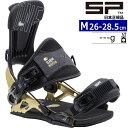 【早期予約商品】21-22 SP UNITED MOUTAIN MULTIENTRY カラー:GOLD Mサイズ スノーボード バインディング 着脱カンタン ビンディング …