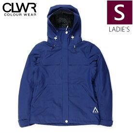 ★ 18-19 CLWR BASE JKT カラー:Midnight BLUE Sサイズ カラーウェア フリースキー スノーボード レディース ウーマンズ ジャケット シンプル JACKET WEAR COLOUR 型落ち 旧モデル