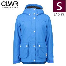 ★ 18-19 CLWR IDA JKT カラー:Swedish BLUE Sサイズ カラーウェア フリースキー スノーボード レディース ウーマンズ ジャケット シンプル JACKET WEAR COLOUR 型落ち 旧モデル