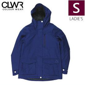 ★ 18-19 CLWR RAW JKT カラー:Midnight BLUE Sサイズ カラーウェア フリースキー スノーボード レディース ウーマンズ ジャケット シンプル JACKET WEAR COLOUR 型落ち 旧モデル