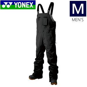 ☆[Mサイズ]20 YONEX TITANIUM BIB PNT カラー:ブラック メンズ スキー スノーボード ウェア 軽量で動きやすいストレッチパンツ シンプルデザイン ヨネックス ティタニウムビブパンツ 日本正規品