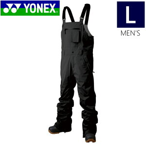 ☆[Lサイズ]20 YONEX TITANIUM BIB PNT カラー:ブラック メンズ スキー スノーボード ウェア 軽量で動きやすいストレッチパンツ シンプルデザイン ヨネックス ティタニウムビブパンツ 日本正規品