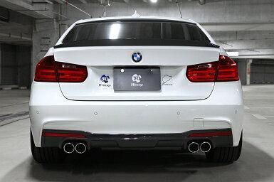 3D Design (3Dデザイン)BMW 4シリーズ F32 (420i)マフラー (デュアル/4テール)