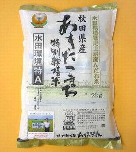 令和元年秋田県産 特別栽培米 あきたこまち玄米 2kg