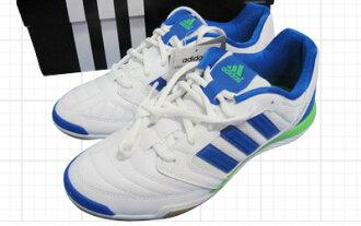 阿迪达斯最高层萨拉12跑步白×重要蓝色