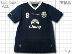 【選手支給品】 2012 ブリラム・ユナイテッド ACL・アジアチャンピオンズリーグ Home(紺)