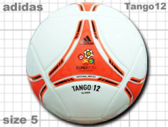 Adidas Tango 12 glider White x Orange # 5 balls