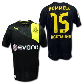 Product made in Borussia Dortmund 12/13 away (black) #15 HUMMELS マッツ Hummel's PUMA