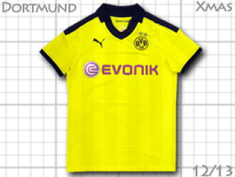 4b32763fa O.K.A.Football: Borussia Dortmund 12 / 13 home (yellow)-Xmas version ...