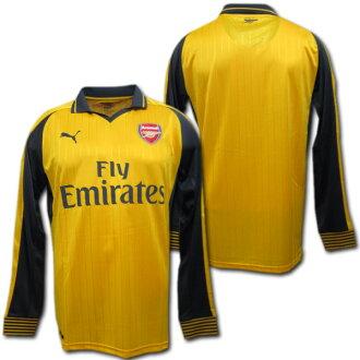 sale retailer 92429 019b8 Arsenal away 16 / 17 (yellow) long sleeve made of Puma