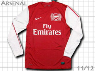 new product 2c888 428d7 Product made by long sleeves Nike of the 125th anniversary of Arsenal 1112  home