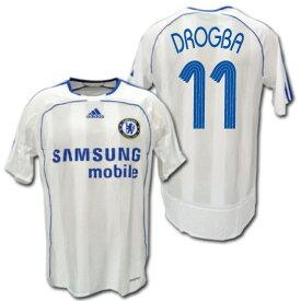 【CL仕様】 チェルシー 06/07  アウェイ(白) 選手用 #11 DROGBA ディディエ・ドログバ adidas