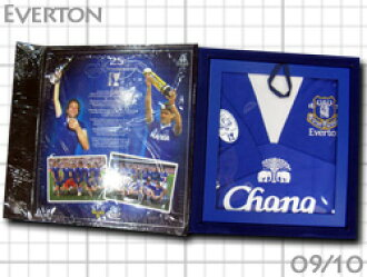 From Everton 2 25th anniversary commemorative BOX with uni & DVD & medal limited edition