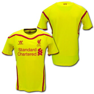 f49a010c4 O.K.A.Football  14 15 Liverpool away (yellow)-Warrior