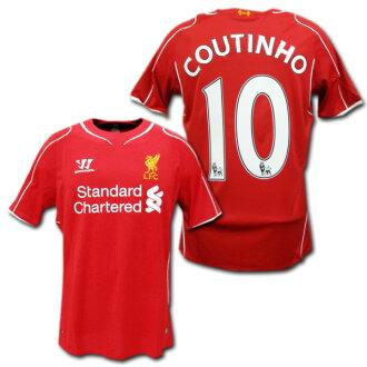 sale retailer f94f9 22dd9 14 / 15 Liverpool home (red) # 10 COUTINHO Coutinho-Warrior