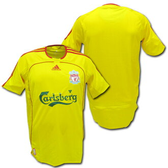 newest bd6c7 93437  Product made by Liverpool 06/07 away (yellow) Adidas