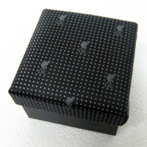 【リバプール公式】 ネクタイ&カフスボタン(ブラック)
