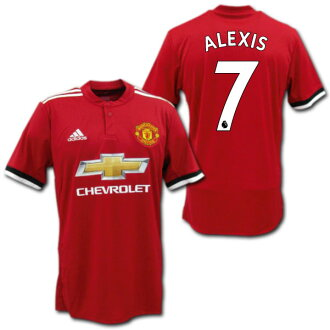 huge selection of e7017 1a6a4 Manchester United 17/18 home (red) # 7 ALEXIS Alexis Sanchez adidas