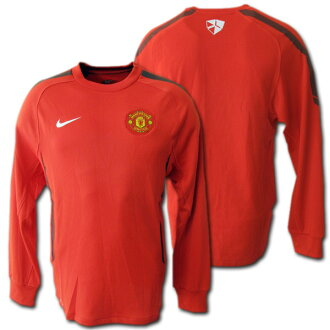 online retailer 8b606 e190f   Manchester United 2011 training sweat shirt (red) back raising type NIKE