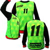 Bibbs 10 each set full sublimation design! Number, team name, emblem and free! FUTURIST-