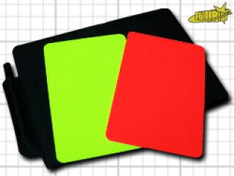 심판: 옐로우 및 레드 카드. 카드 케이스. 기록 용지 (영어)
